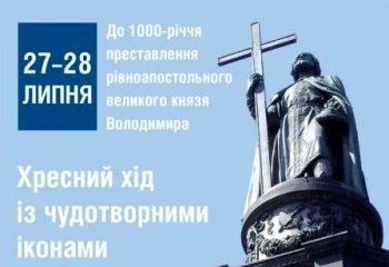 Памятник князю Владимиру на Владимирской горке