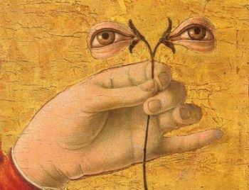 Фрагмент картины «Святая Лючия»
