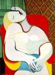 Сон. Картина Пикассо