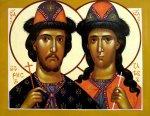 Святые благоверные князья Борис и Глеб