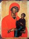 «Святая Анна с младенцем Марией», Греция, XV в.