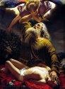 Авраам приносит Исаака в жертву. Рейтерн Е., 1849 г.
