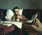 Илья Репин. Михаил Глинка за сочинением оперы «Руслан и Людмила», 1887