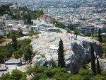 Ареопаг: вид с Акрополя
