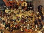 Брейгель. Битва Масленицы и Поста, 1559 г.