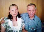 Галина Минеева с Валентином Распутиным