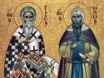 Преподобные Кирилл и Мефодий
