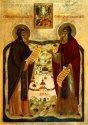 Преподобные чудотворцы Сергий и Герман Валаамские