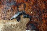 Маалюля. Монастырь св. Фёклы. Частично утраченная мозаика