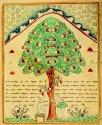 Адам и Ева у древа познания. Лубок. 1-я пол. XIX в. (ГИМ)